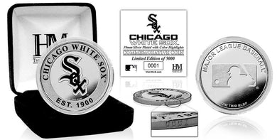 Chicago White Sox Silver Color Coin