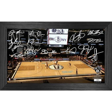 Brooklyn Nets 2021 Signature Court Photo