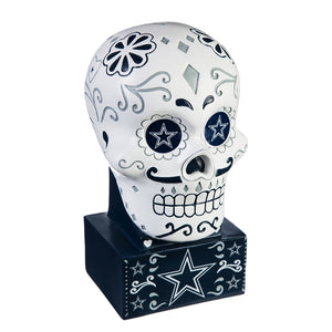 Dallas Cowboys Sugar Skull Statue