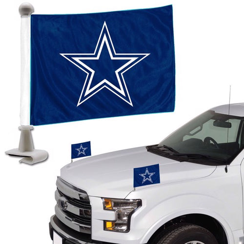 Dallas Cowboys Blue Ambassador Flag Set of 2