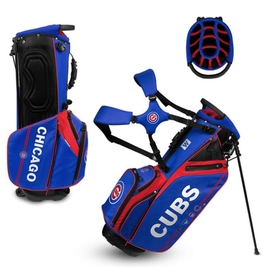 Chicago Cubs Caddie Carry Hybrid Golf Bag
