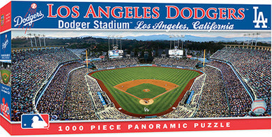 Los Angeles Dodgers Panoramic Puzzle