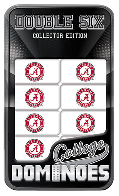 NCAA fan gear Alabama Crimson Tide dominoes set from Sports Fanz