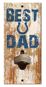 Indianapolis Colts Best Dad Bottle Opener