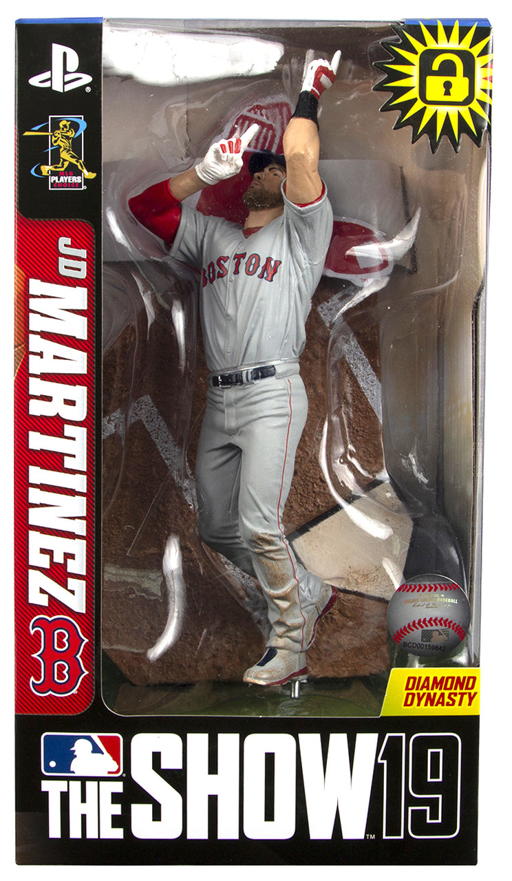 JD Martinez Boston Red Sox MLB The Show 19 Action Figure