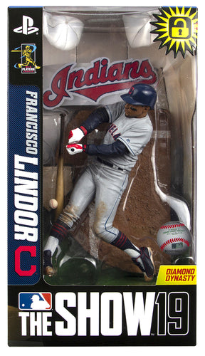 Francisco Lindor Cleveland Indians MLB The Show 19 Action Figure