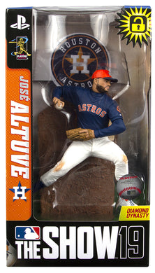 Jose Altuve Houston Astros MLB The Show 19 Action Figure
