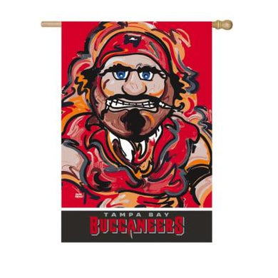 Tampa Bay Buccaneers Mascot House Flag