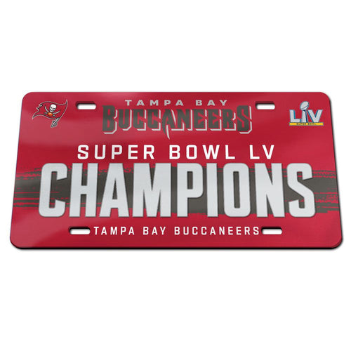 Copy of Tampa Bay Buccaneers Super Bowl 55 Champs License Plate