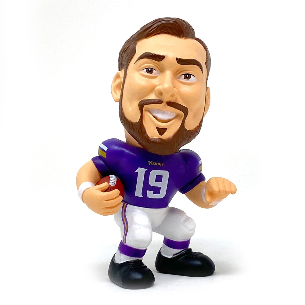 Adam Thielen Minnesota Vikings Big Shot Ballers Action Figure