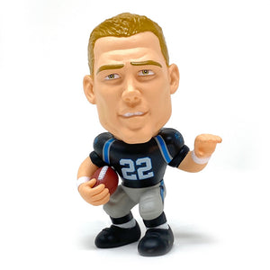 Christian McCaffery Carolina Panthers Big Shot Ballers Action Figure