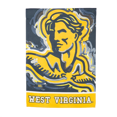 West Virginia Mountaineers Double Sided House Flag - 29