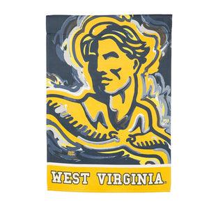 "West Virginia Mountaineers Double Sided House Flag - 29""x43"