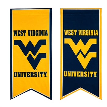 West Virginia Mountaineers Banner Garden Flag