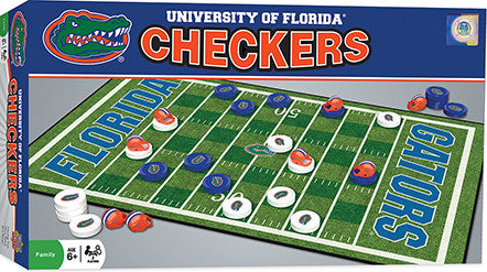 Florida Gators Checkers