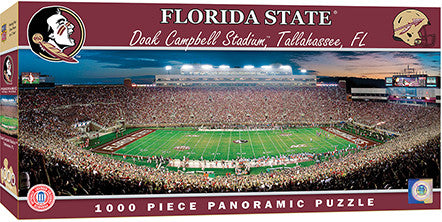 Florida State Seminoles Football Panoramic Puzzle