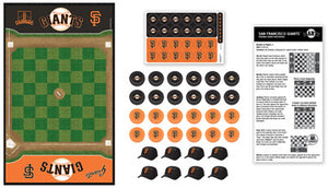 San Francisco Giants Checkers