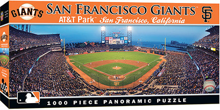 San Francisco Giants Panoramic Puzzle