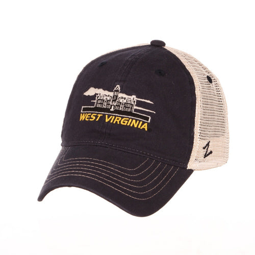 West Virginia Mountaineers Destination Woodburn Hall Trucker Hat