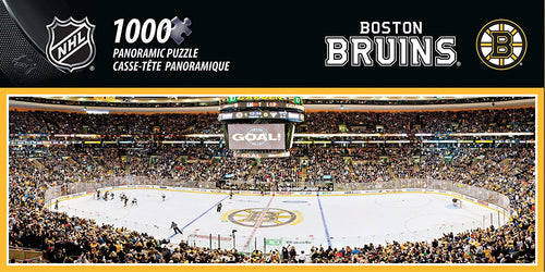 Boston Bruins Panoramic Puzzle