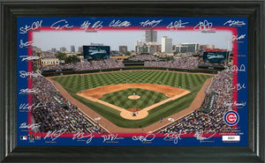Chicago Cubs Signature Field Photo Frame