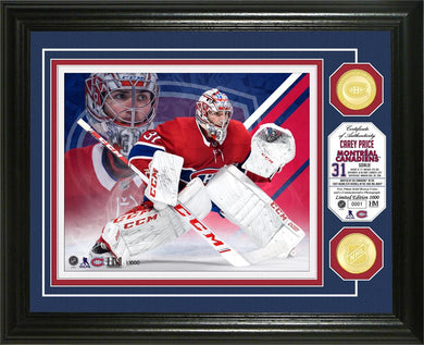 Carey Price Montreal Canadiens Bronze Coin Photo Mint