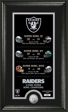 oakland raiders super bowl champions