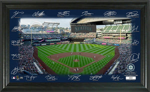 Seattle Mariners Signature Field Limited Edition Frame