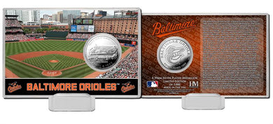 Baltimore Orioles Silver Coin Card