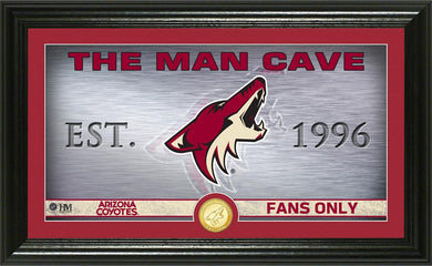 Arizona Coyotes Man Cave Panoramic