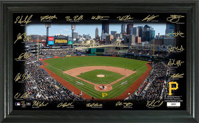 Pittsburgh Pirates Signature Field Limited Edition Frame