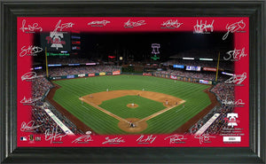 Philadelphia Phillies Signature Field Limited Edition Frame