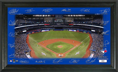 Toronto Blue Jays Signature Field Limited Edition Frame