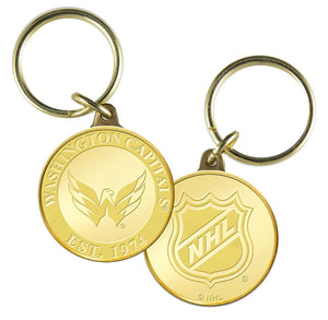 Washington Capitals Bronze Team Keychain