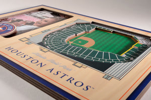 Houston Astros 3D StadiumViews Picture Frame
