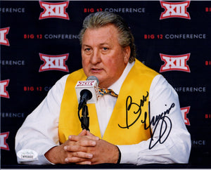 Bob Huggins West Virginia Mountaineer Autograph
