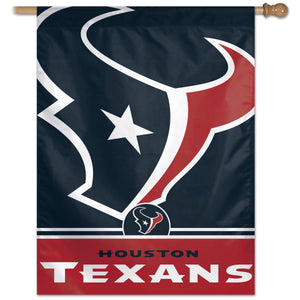 "Houston Texans Vertical Flag - 27""x37"""