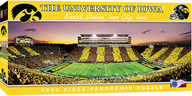 Iowa Hawkeyes Football Panoramic Puzzle