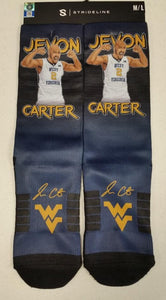 Jevon Carter West Virginia Mountaineers Socks