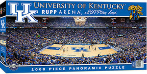 Kentucky Wildcats Rupp Arena Basketball Panoramic Puzzle
