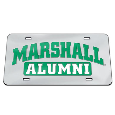 marshall thundering herd alumni license plate