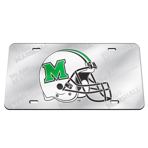 marshall football, marshall license plate
