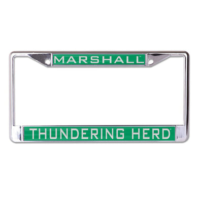 Marshall Thundering Herd Metal Licensed Plate Frame