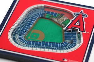 Los Angeles Angels 3D StadiumViews Coaster Set