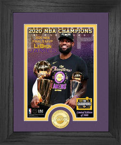 Lebron James Los Angeles Lakers 2020 NBA Finals MVP