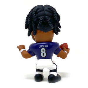 Lamar Jackson Baltimore Ravens Big Shot Ballers Action Figure