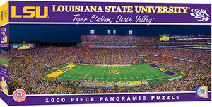 LSU Tigers Football Panoramic Puzzle