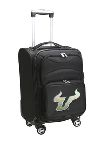 South Florida Bulls Luggage Carry-On 21in Spinner Softside Nylon
