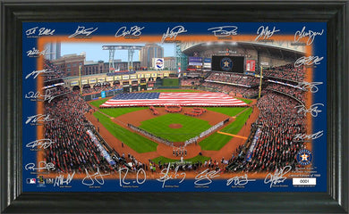 Houston Astros Signature Field Photo Frame
