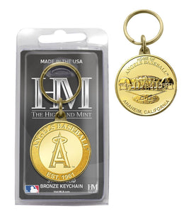Los Angeles Angels Bronze Team Keychain